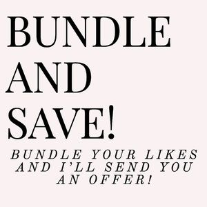 Bundle & Save!✨🌟